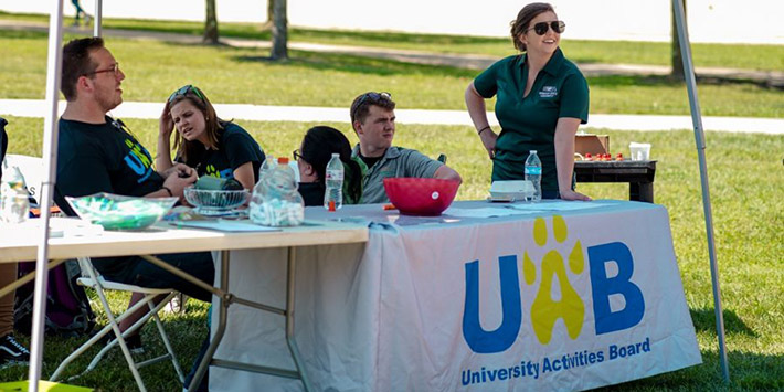 photo of members of the university activities board