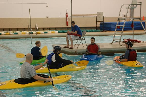 Adventure Summit Pool Activity