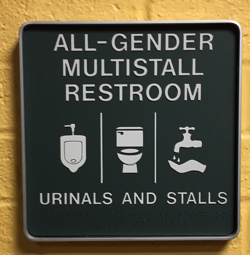 All Gender Restrooms Office Of Lesbian Gay Bisexual