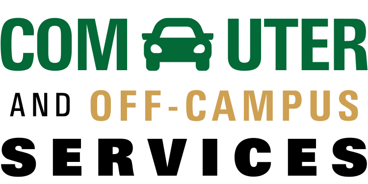 Commuter and Off-Campus Services Graphic