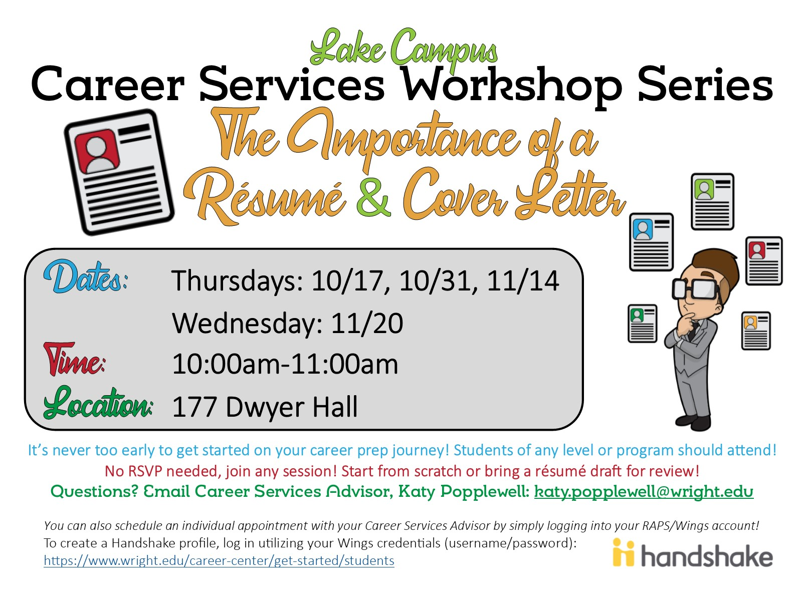 Career Services Workshop Series: The Importance of a Resume ...