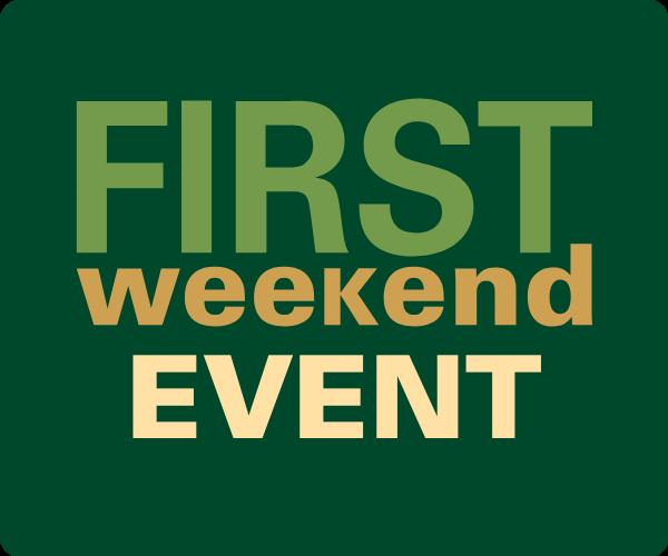 First Weekend Event mark