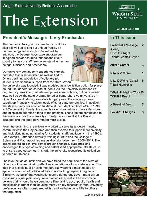 Fall 2020 Extension, Issue 104