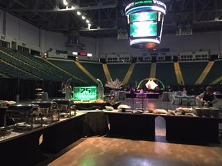 Nutter Center 25 Arena Floor