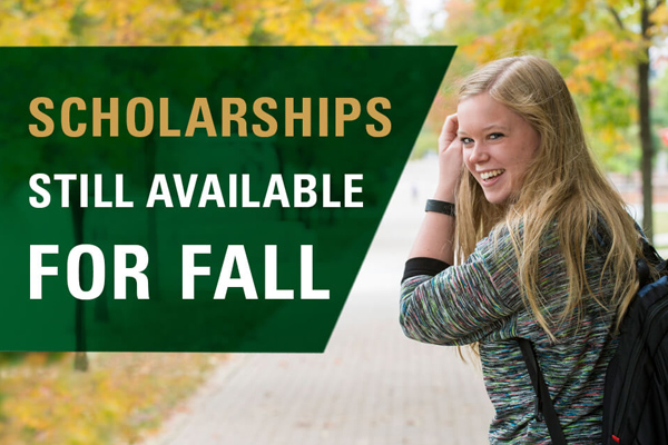 Scholarships still available for fall