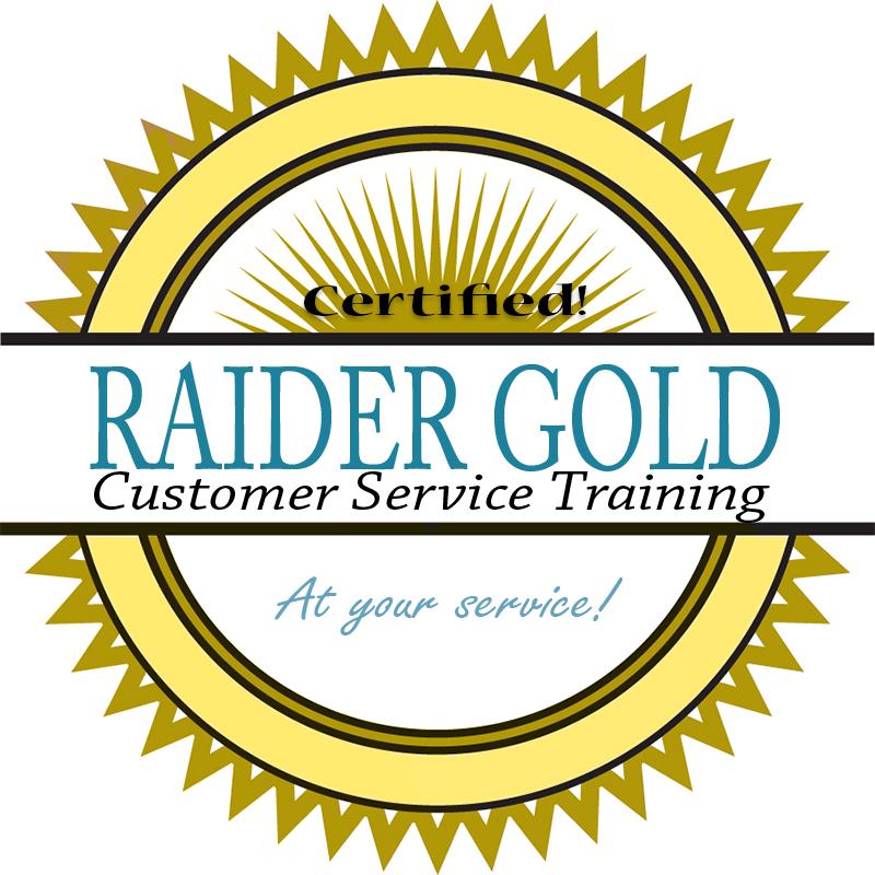 Raider Gold logo