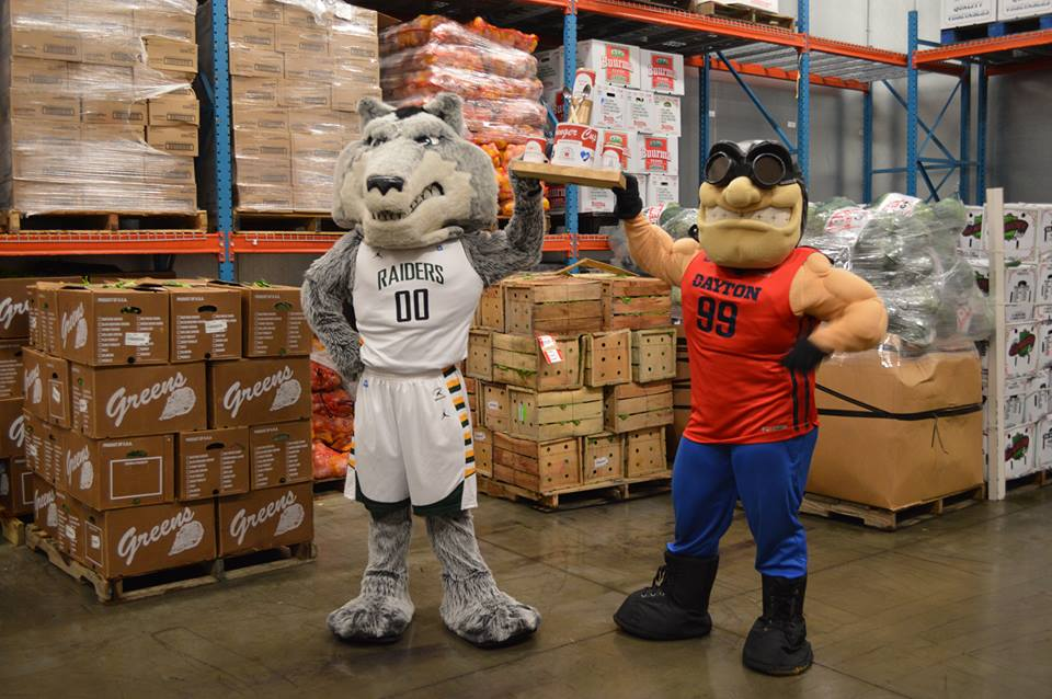 Hunger Cup Mascots - Rowdy and Rudy
