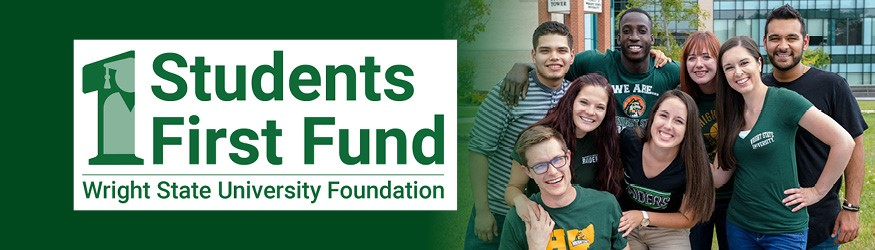 Student First Fund wordmark with students smiling