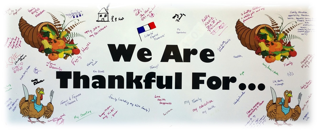 Thanksgiving Banner of Thankfulness