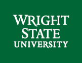Wright State 3-line wordmark white