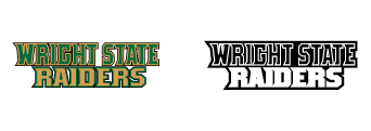 Wright State Athletics secondary wordmark