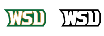 Wright State Athletics secondary wordmark WSU