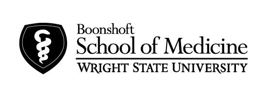 Wright State Boonshoft School of Medicine primary logo - black