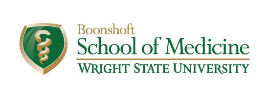 Wright State Boonshoft School of Medicine primary logo - fullcolor