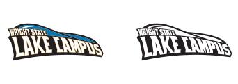 Wright State Lake Campus Athletics Wordmark