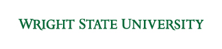 Wright State wordmark green
