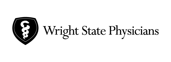 Wright State Physicians primary logo - black
