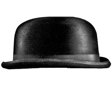 Wright brothers-inspired bowler hat