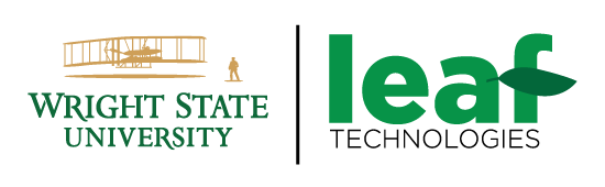 Wright State University primary logo cobranding example - Permission must always be granted when cobranding.