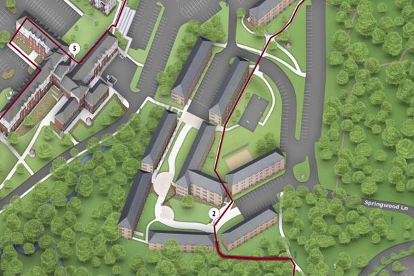 Virtual housing tour