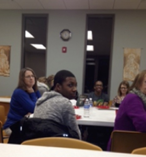 Community Dinner at the Campus Ministry: Fall 2014:  Joshua Hatch, ISN Student