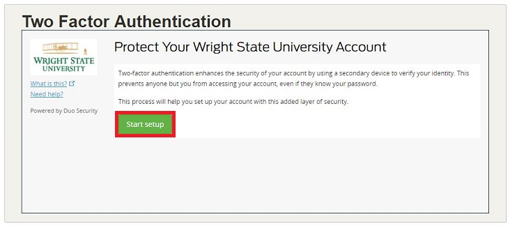 Two-Factor Authentication | CaTS | Information Technology