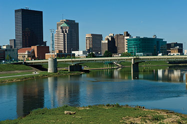 photo of downtown dayton