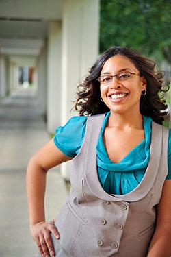 photo of a graduate student