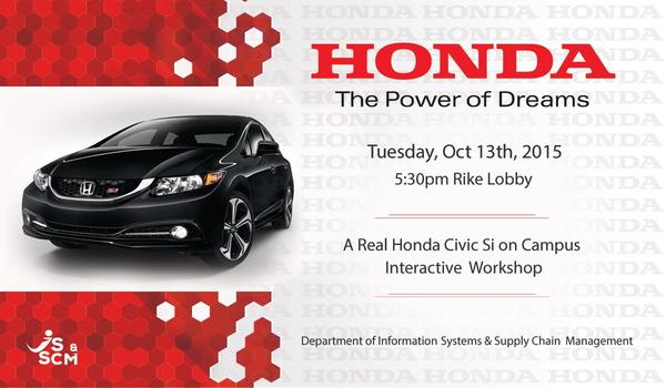 Honda: The Power of Dreams | Wright State University