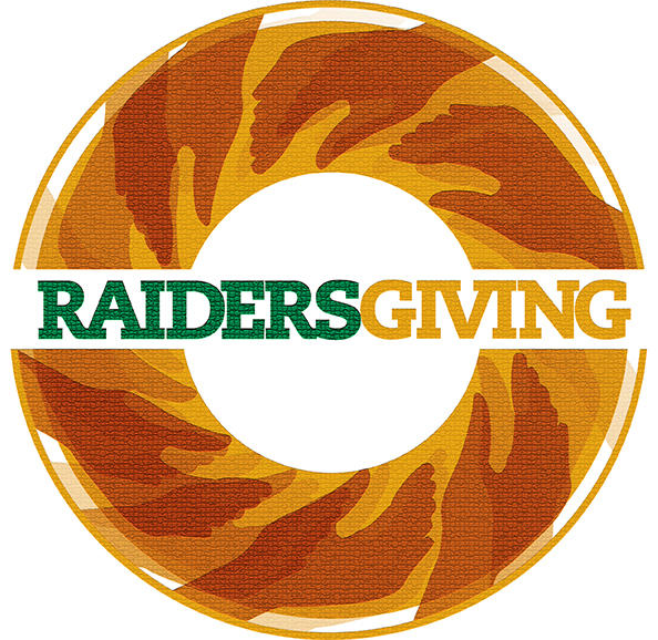 Raidersgiving logo