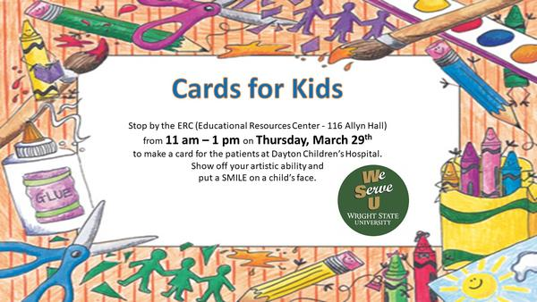Cards For Kids Wright State University