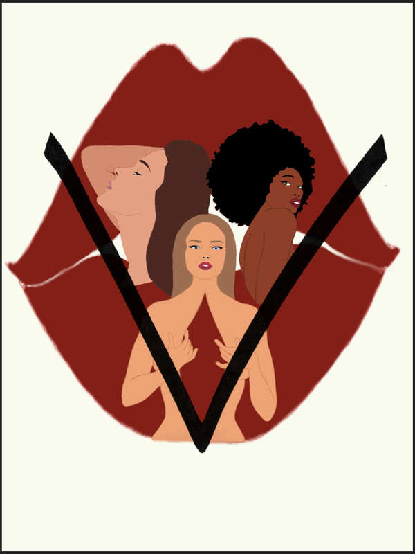 The Vagina Monologues Logo