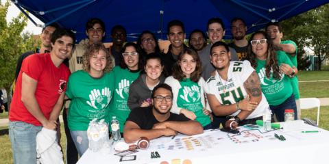 Students at Organization Fairr