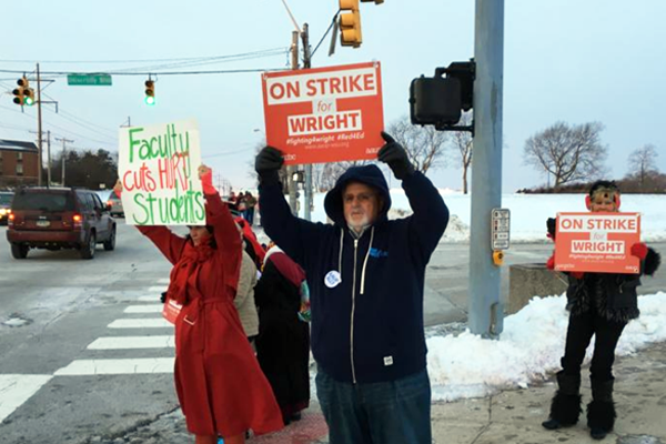 faculty on strike