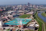 Dayton aerial shot