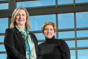 Cheryl Schrader and SUsan Edwards