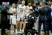 Ryan Custer in wheelchair