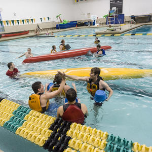Swimming pool campus recreation wright state university for Are boils contagious in swimming pools