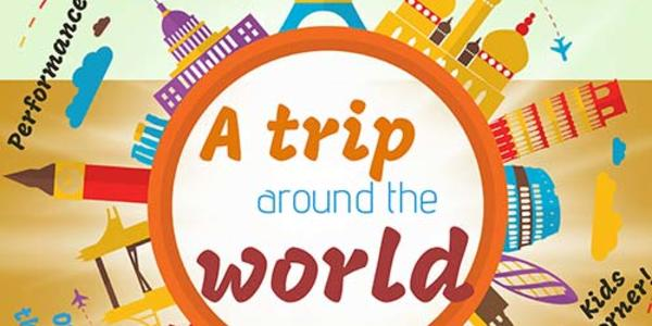 A trip around the world: Open to the public! Food! Performances! Raffle prizes! International beers! Kids corner!