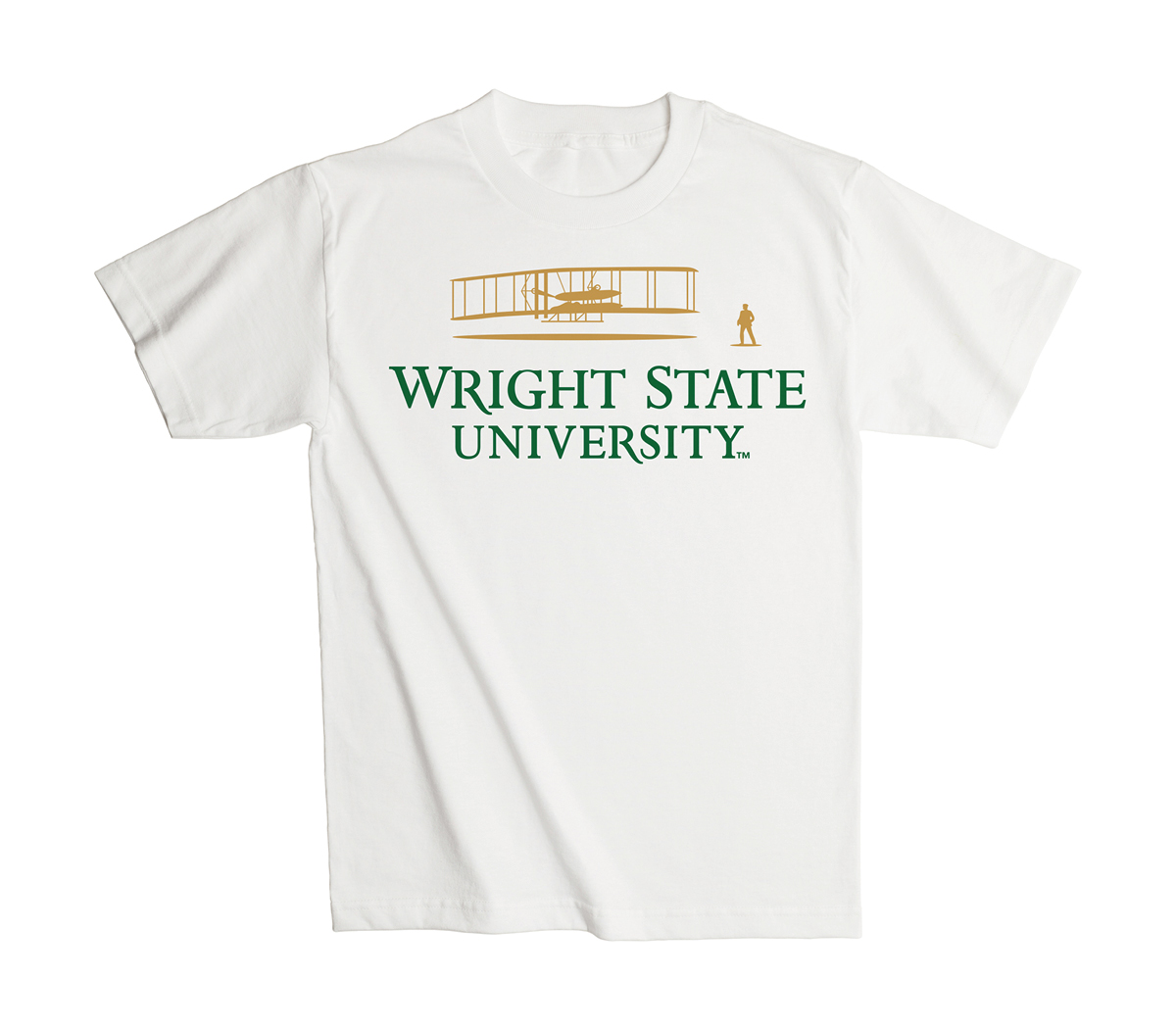 T-shirt example of Wright State University merchandise